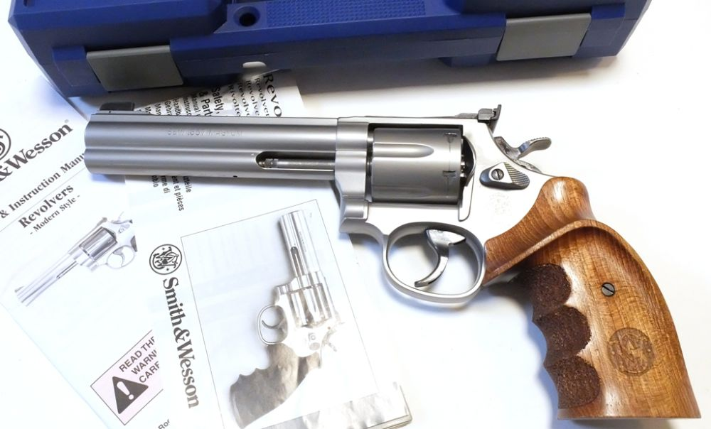 Smith + Wesson 686-5 Target Champion