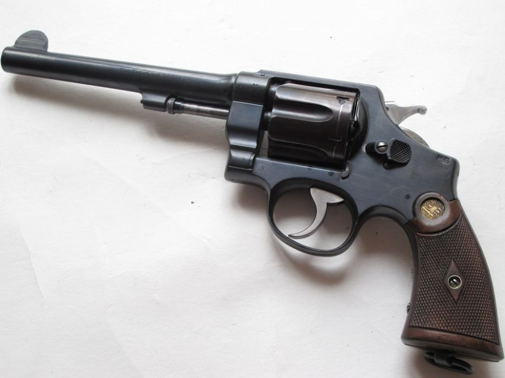 Smith & Wesson 2nd Mod. Hand Ejector 1915 Canada