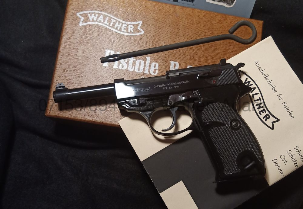 Walther P.38 poliert