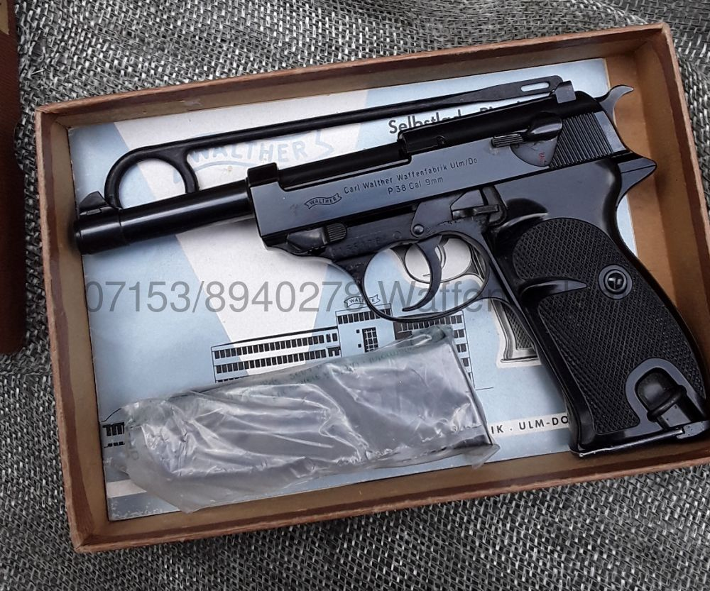WALTHER P.38 E Poliert