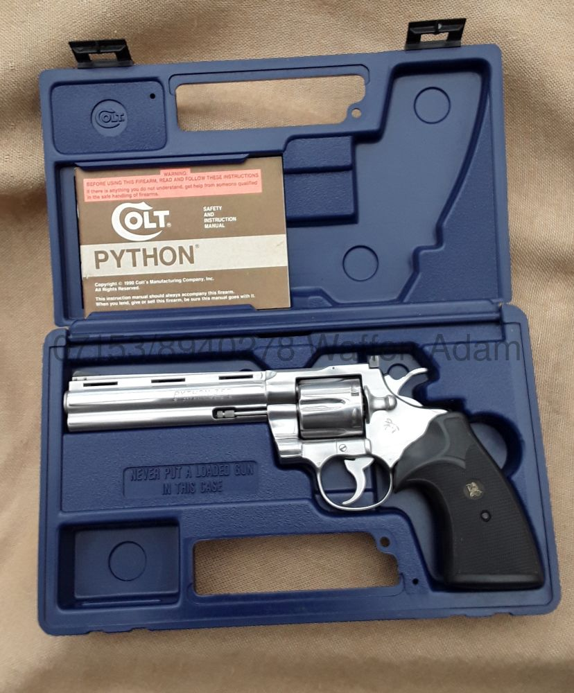 Colt 6 Zoll Python Stainless