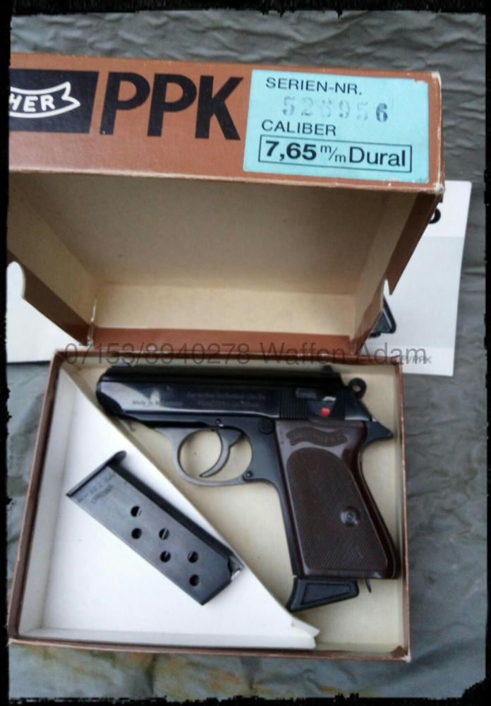Walther Ulm PPk Dural