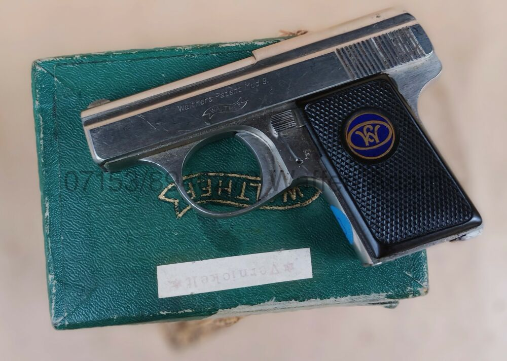 Walther Zella Mehlis Modell 9 *vernickelt*
