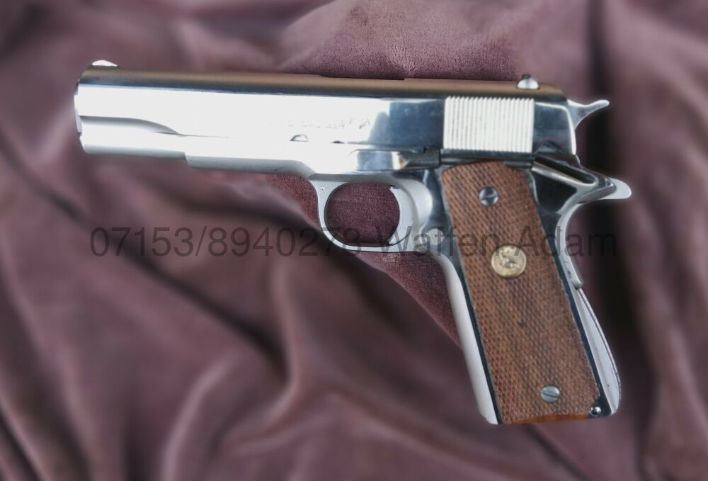 Colt 1911 MK IV Series 70 Government Model - Nickel