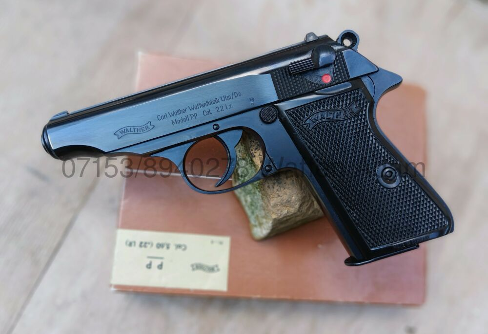 Walther  Polizei Pistole PP .22