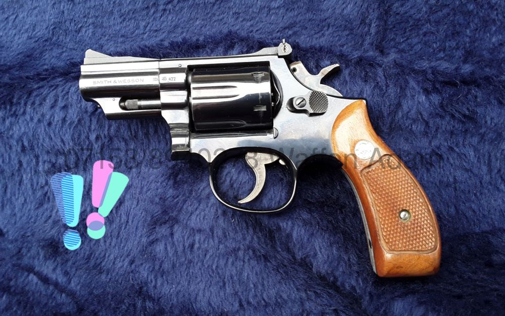 Smith & Wesson M19  2,5""