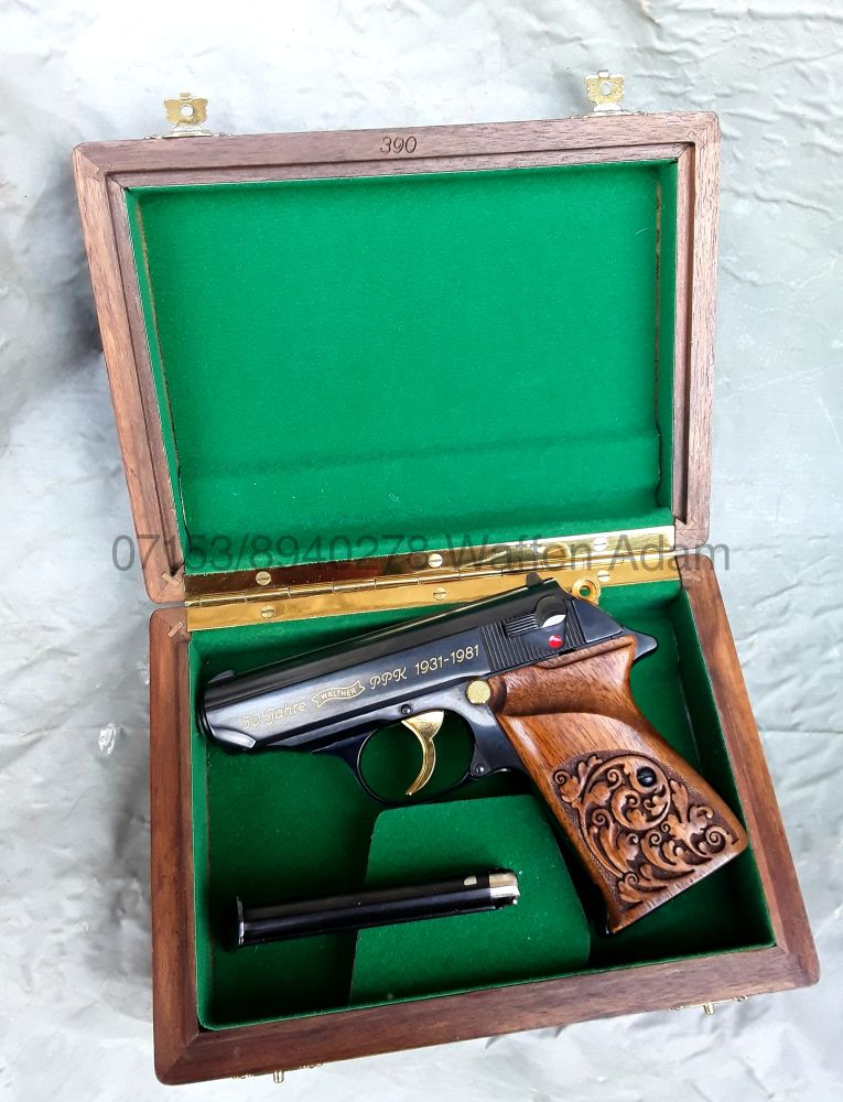 Walther Ulm Sondermodell PPk 50. Anniversary