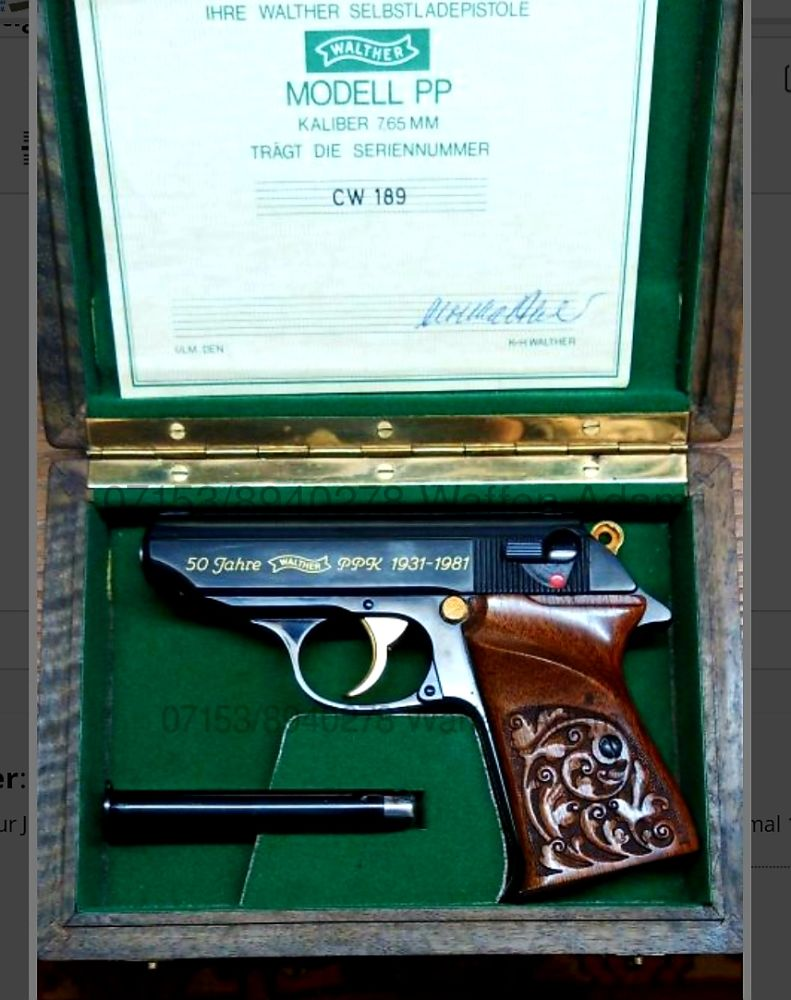 Walther  Sondermodell PP