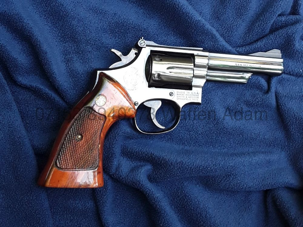 Smith & Wesson Modell 19, 4Zoll