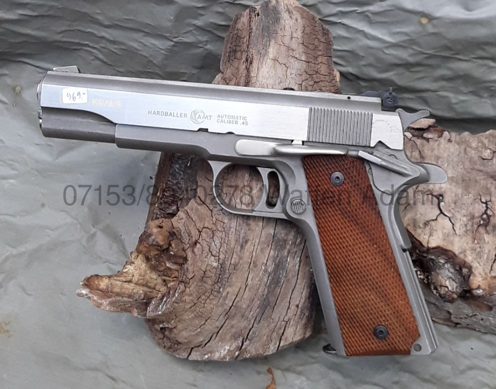 AMT Hardballer 1911 Stainless