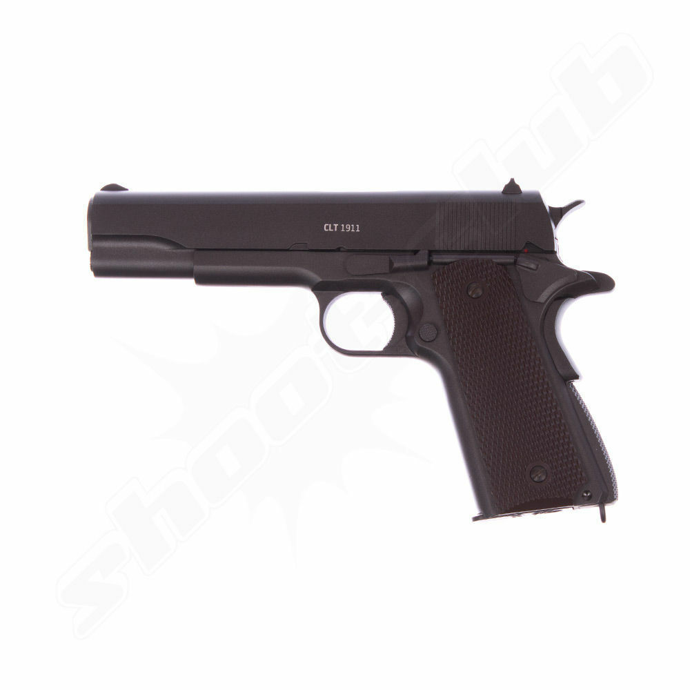 Gletcher CLT 1911 CO2 Pistole Kaliber 4,5mm Stahl BBs