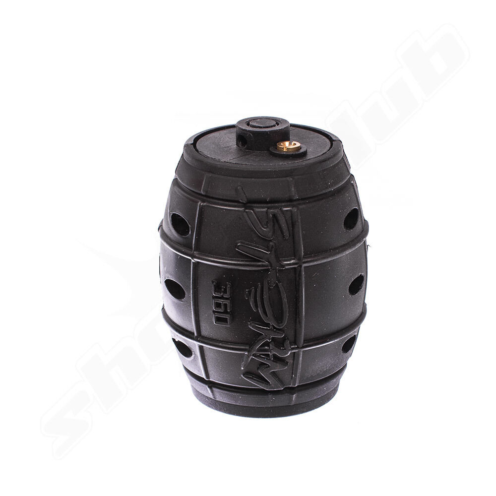 ActionSportGames (Airsoft) ASG Storm 360 Airsoft Granate Black 160bbs-Gas ab18