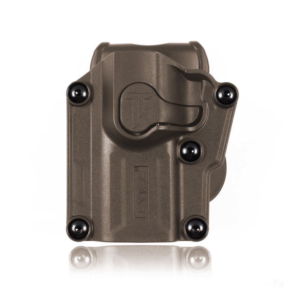 CYTAC Mega-fit Holster Links Tan über 60 Pistolen