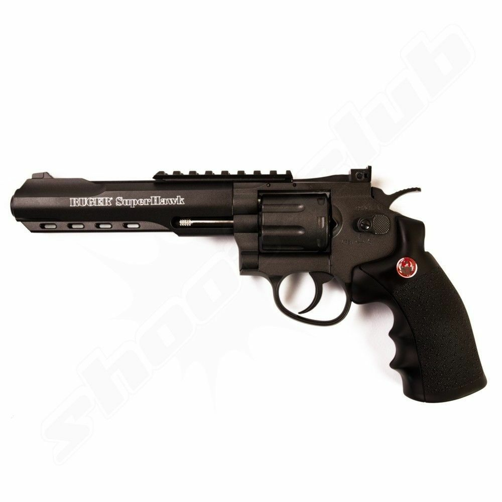 Ruger Ruger Super Hawk 6'' black 6mm BB Airsoft-Revolver
