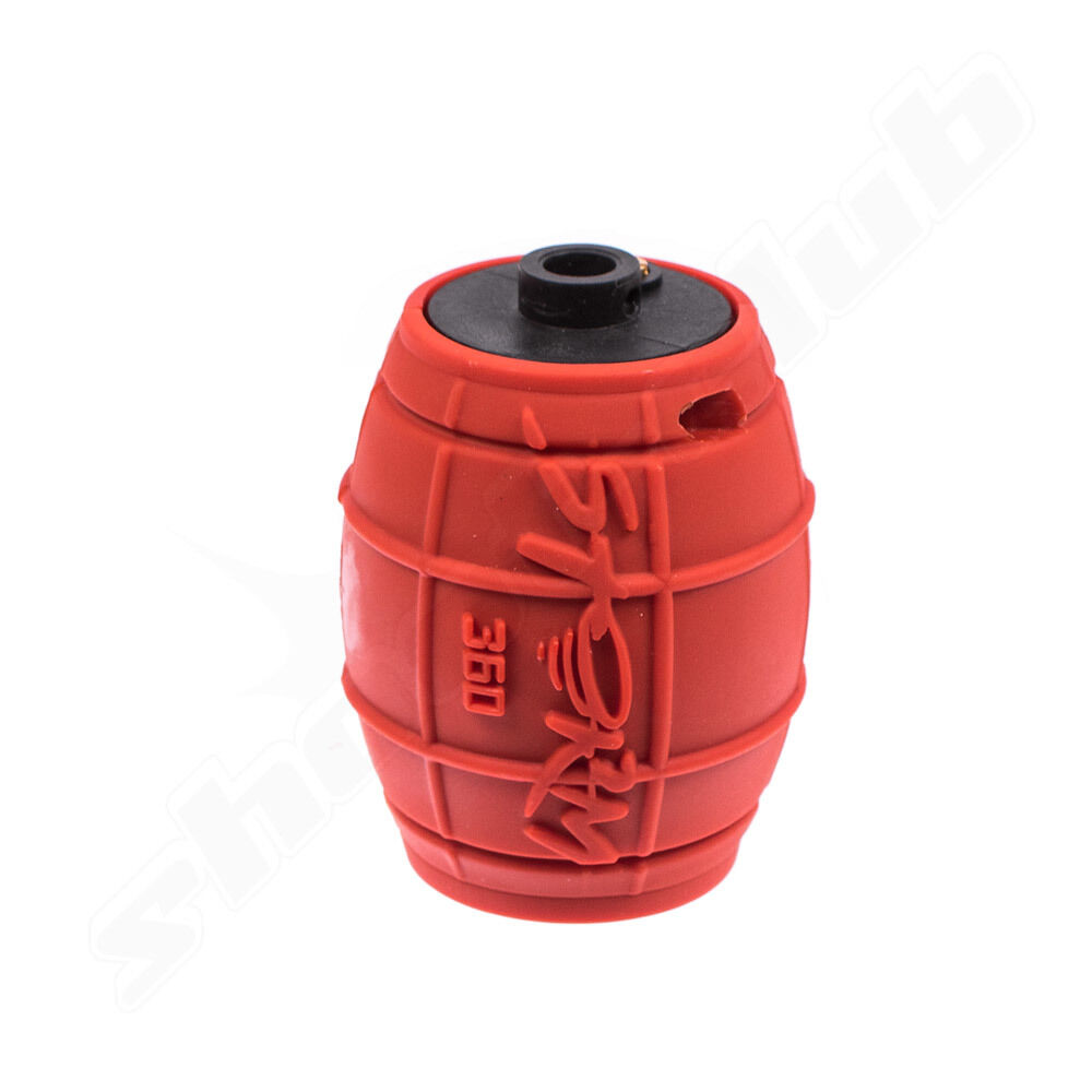 ActionSportGames (Airsoft) ASG Storm 360 Airsoft Granate Red 160bbs-Gas ab18