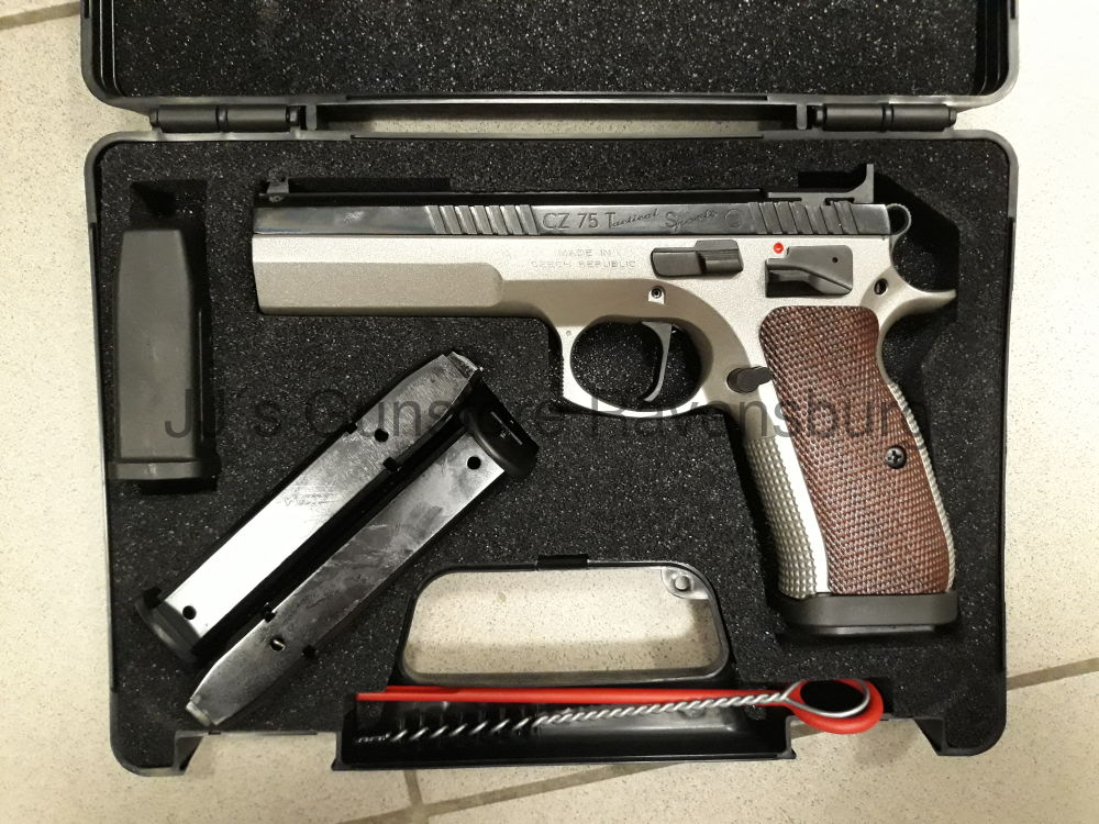 Brünner CZ75 TS IPSC Out of Box