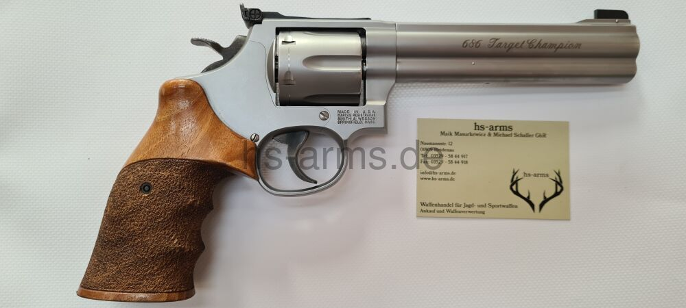 Smith & Wesson S&W Revolver Mod. 686-5 .357 Mag. Target Champion