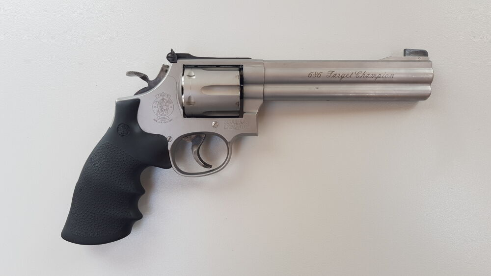 S&W Smith & Wesson S&W Revolver Mod. 686-4 .357 Mag. Target Champion