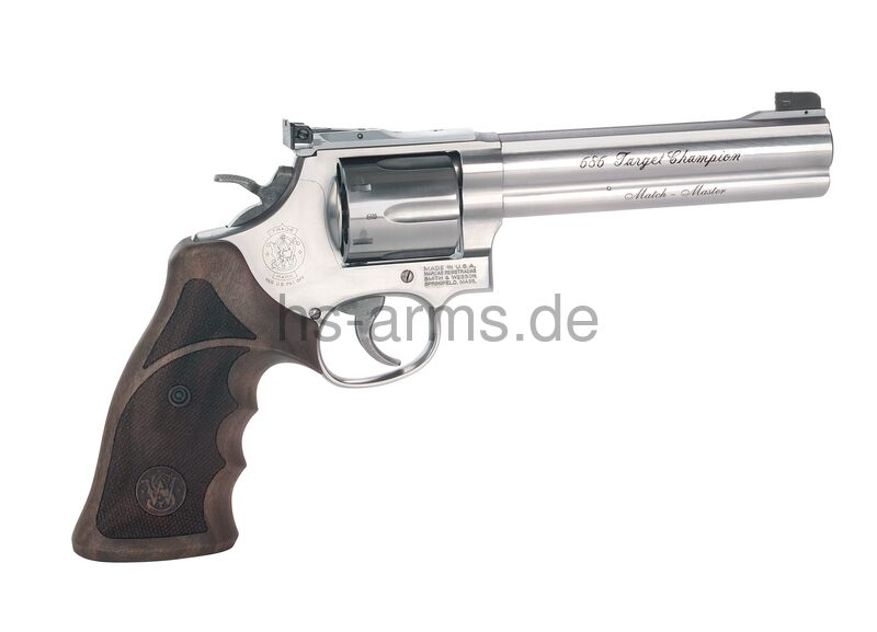 Smith and Wesson S&W Revolver Mod. 686 Target Champion Match Master