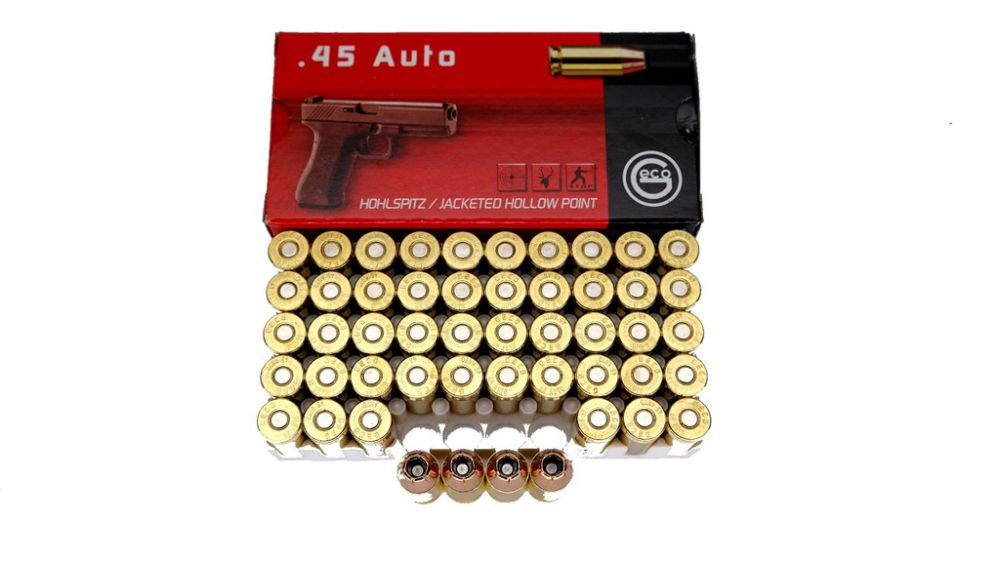 Geco Geco .45 ACP 230gr. 14,9gramm HP Hollow Point