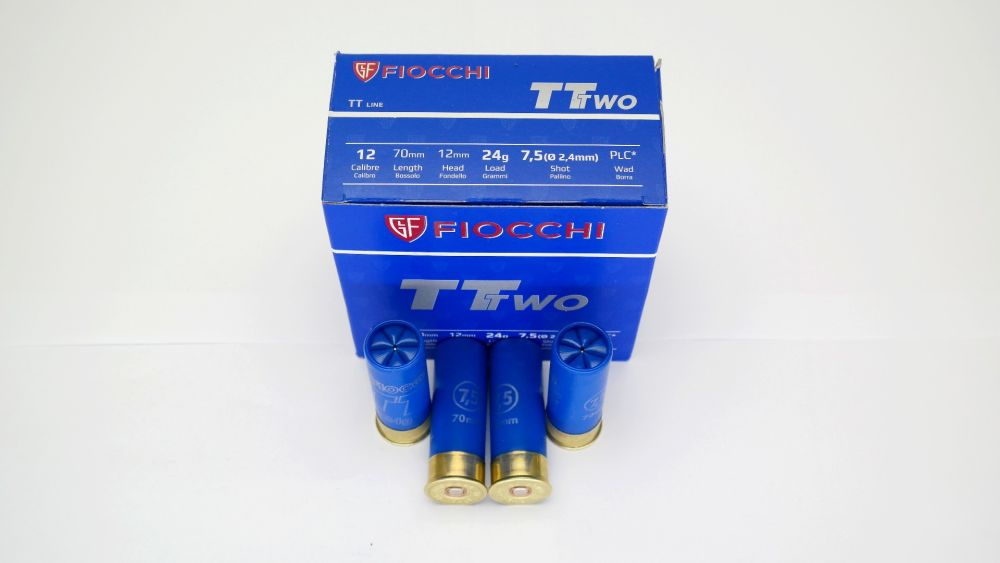 Fiocchi Trap TT Two 24 gramm 2,4mm No 7,5