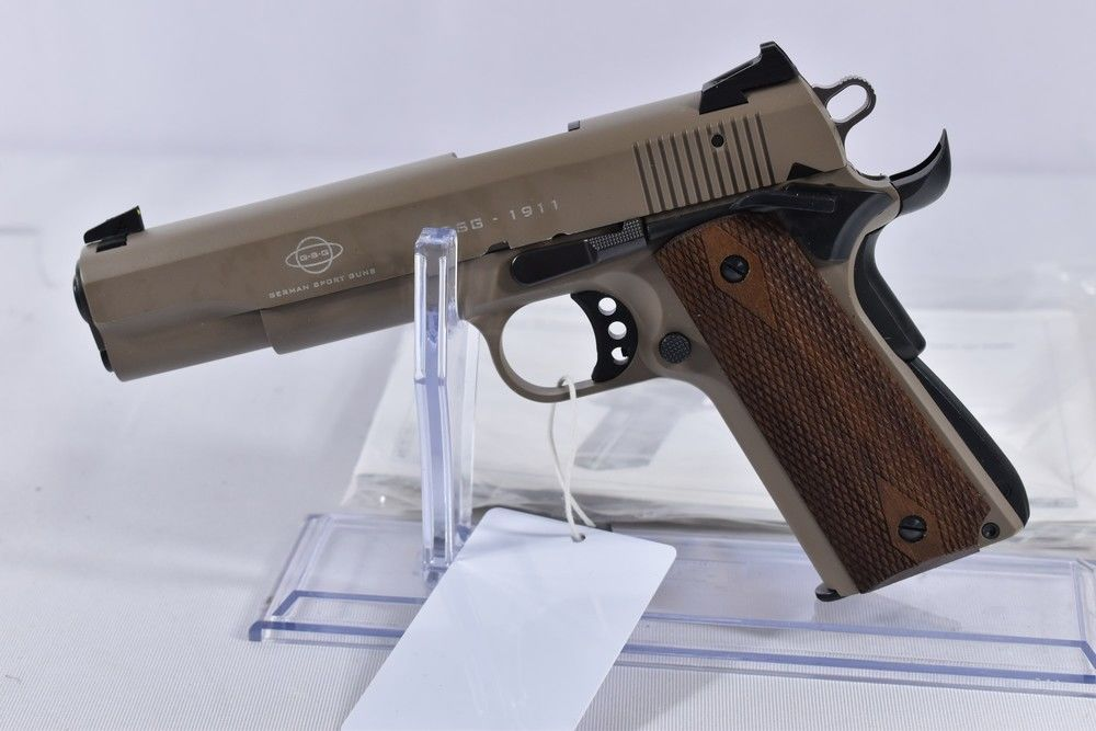 German Sport Guns 1911 US Tan