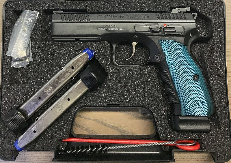 CZ 75 SP01 Shadow II - blau