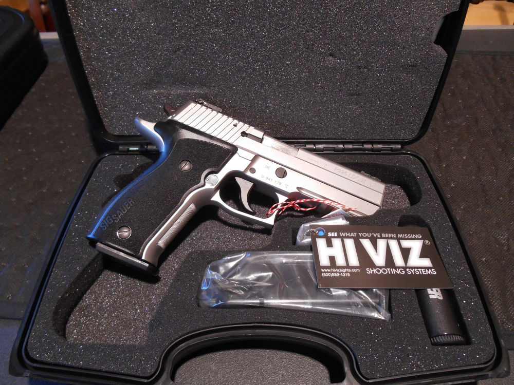 SIG Sauer P226 LDC II Stainless