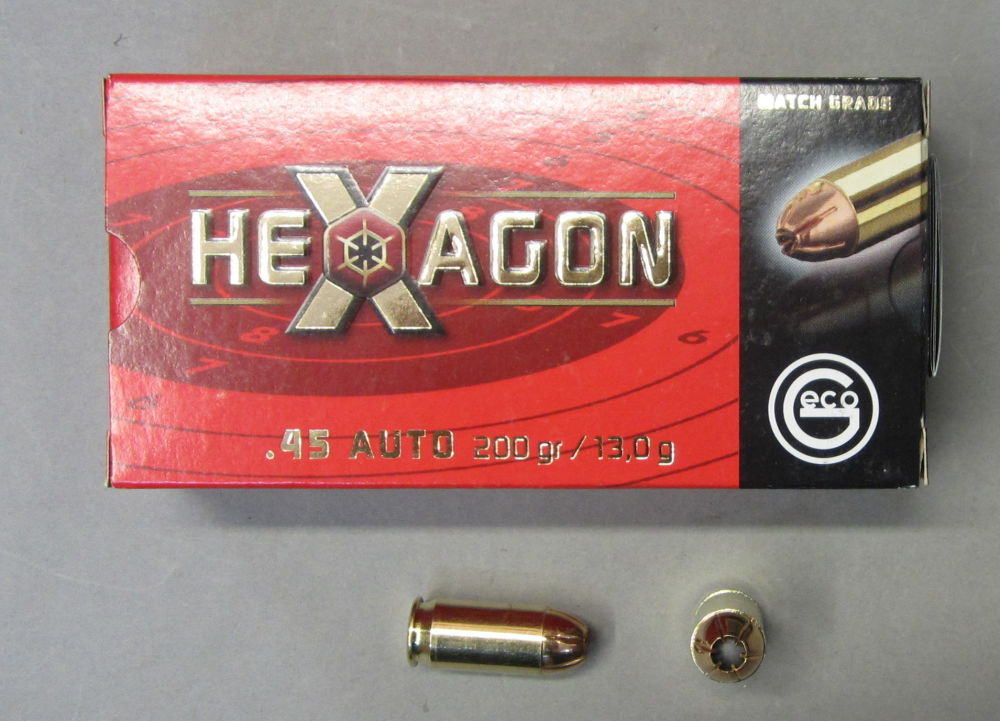 GECO 45 Auto / 45 ACP HEXAGON