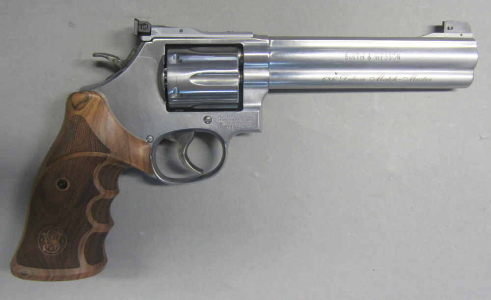 SMITH & WESSON USA Target Champion Mod. 686 Deluxe Match Master