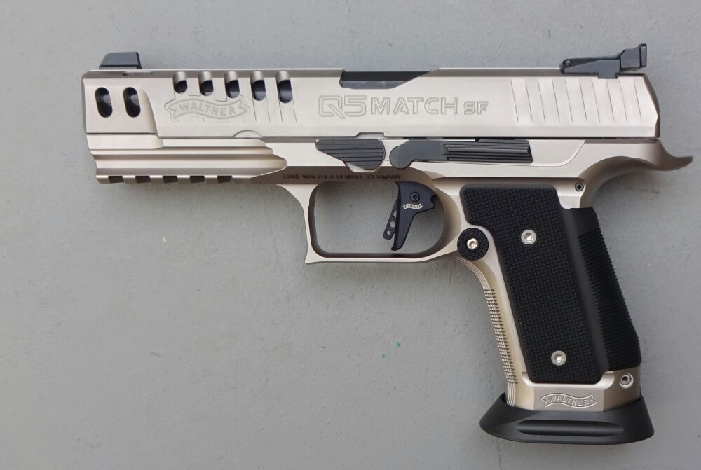 WALTHER Q5 MATCH SF BLACK TIE