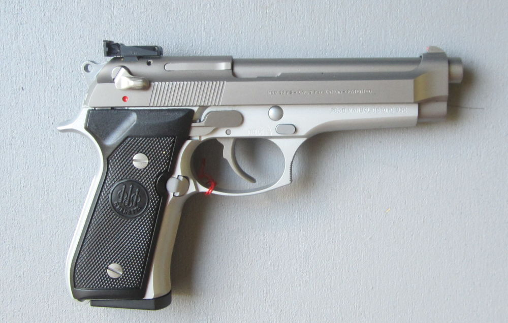 BERETTA ITALY Mod. 92 FS  Stainless