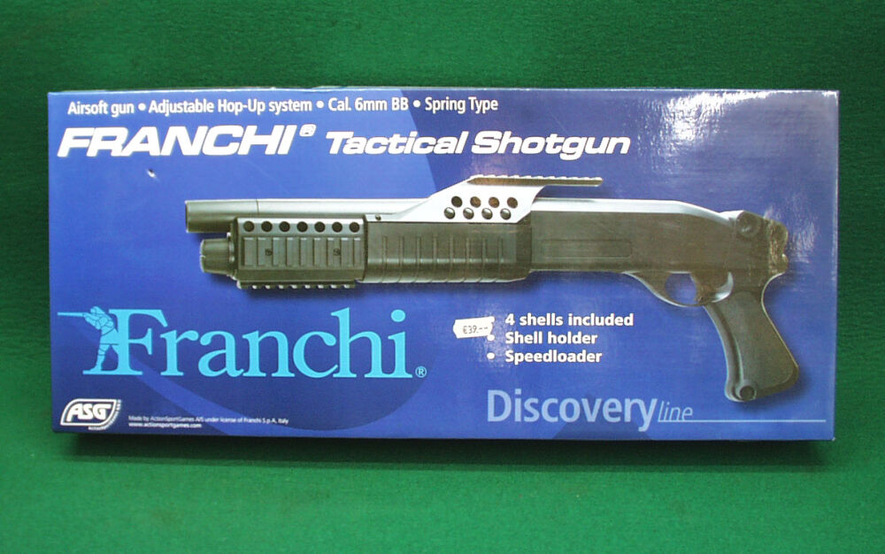 ActionSportGames ASG Franchi Tactical Shotgun