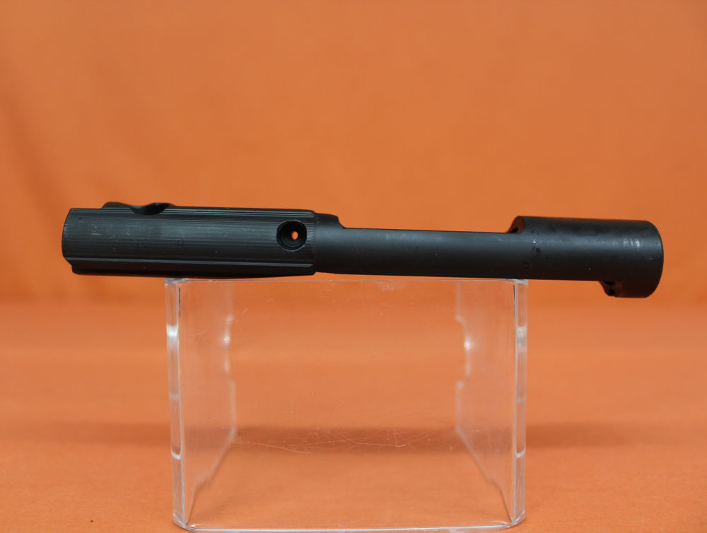 DPMS AR-15: Bolt Carrier stripped DPMS (#BT13) Semi Auto Steel matte/ Verschlußträger leer OHNE Gas Key/ Schrauben/ Bolt Head!