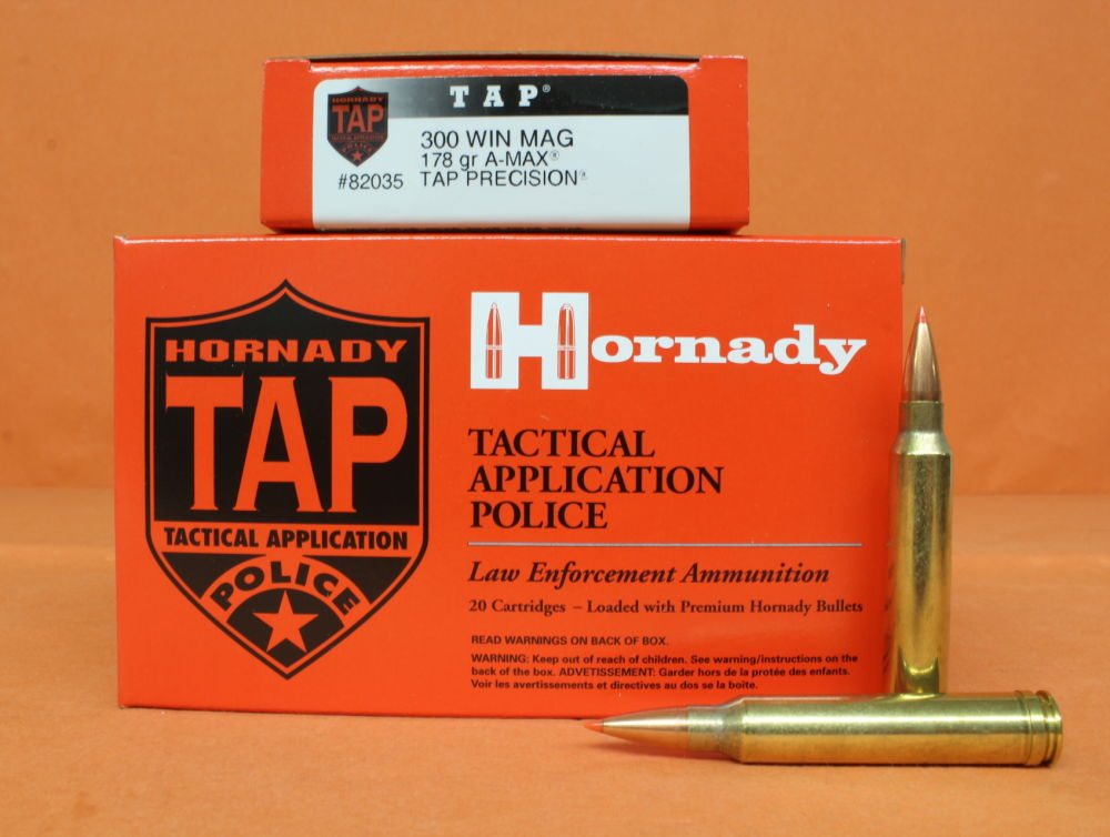 Hornady Patrone .300WinMag Hornady 178grs A-MAX (82035) VE 20 Patronen/ 11,54g A-MAX