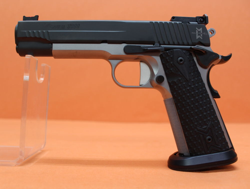 "SIG Sauer Ha.Pistole .45Auto SIG Sauer 1911 Max Full-Size System Colt 1911 5"" Stainless-Lauf (.45ACP/.45A.C.P)"