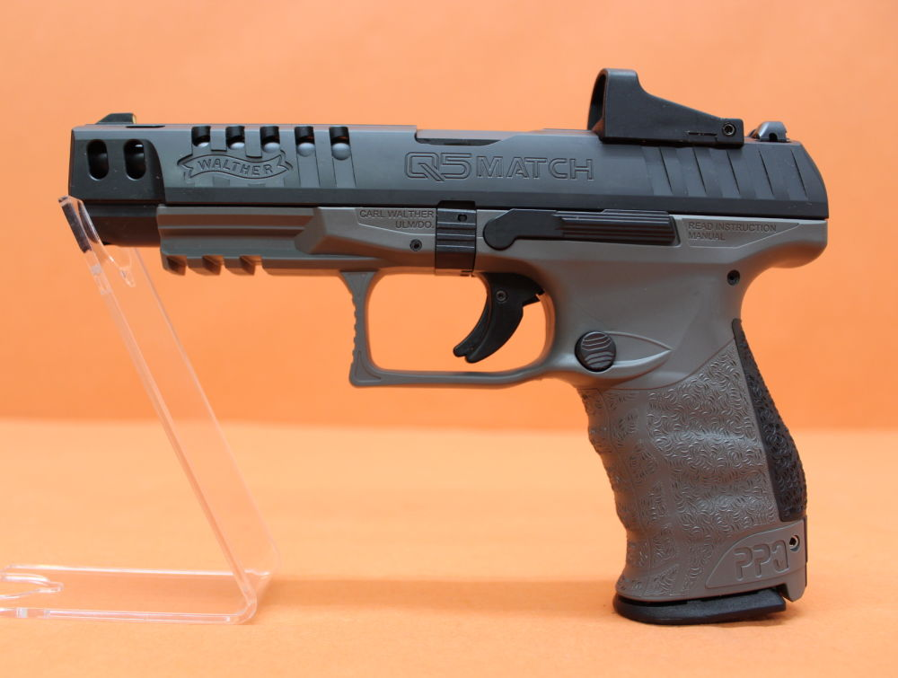 "Walther Ha.Pistole 9mmLuger Walther PPQ Q5 MATCH 5"" Lauf/ Schnittstelle f. Red Dot Sight (9mmPara/9x19)"