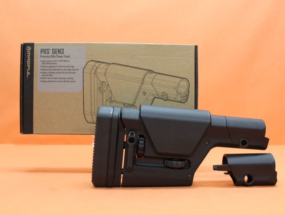 Magpul AR-15: Buttstock Magpul PRS (MAG672-BLK) Gen.3 Polymer Black (Precision Rifle/ Sniper Stock)