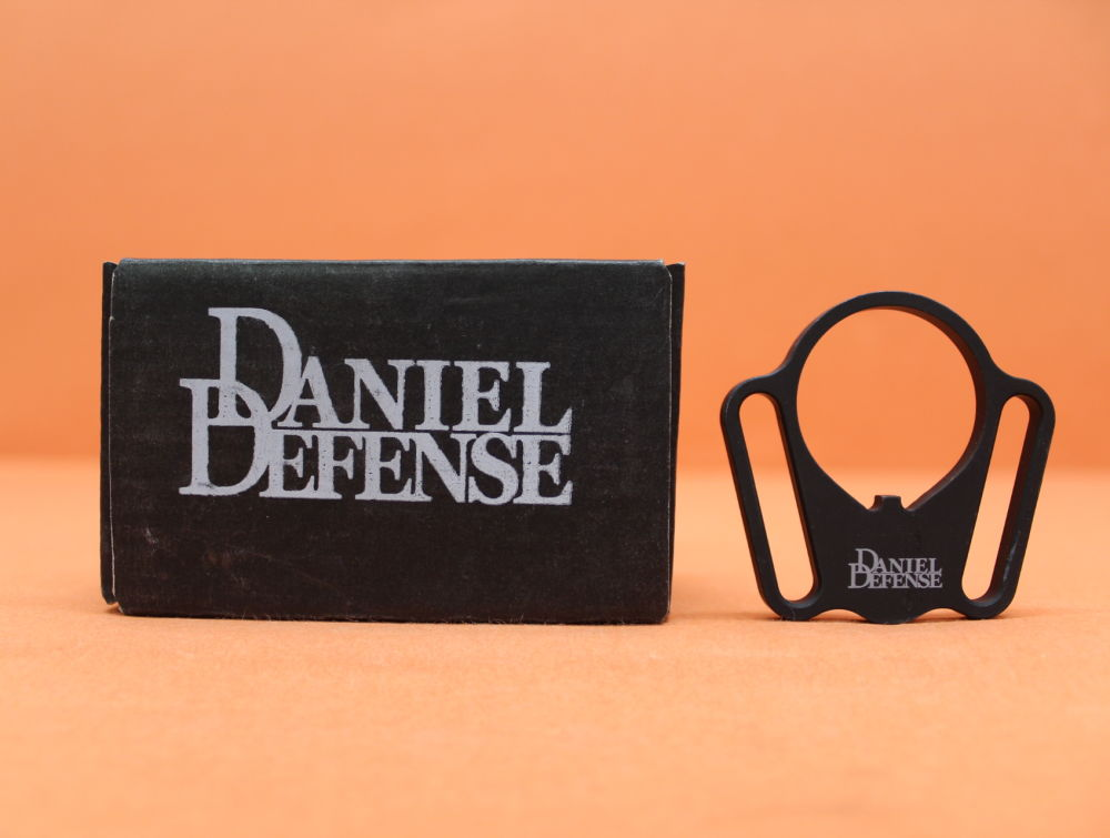 Daniel Defense, Inc. AR-15: Receiver End Plate Daniel Defense (DD-4002) Burnsed Loop Sling Mount Adapter Amb/ Riemenbügel