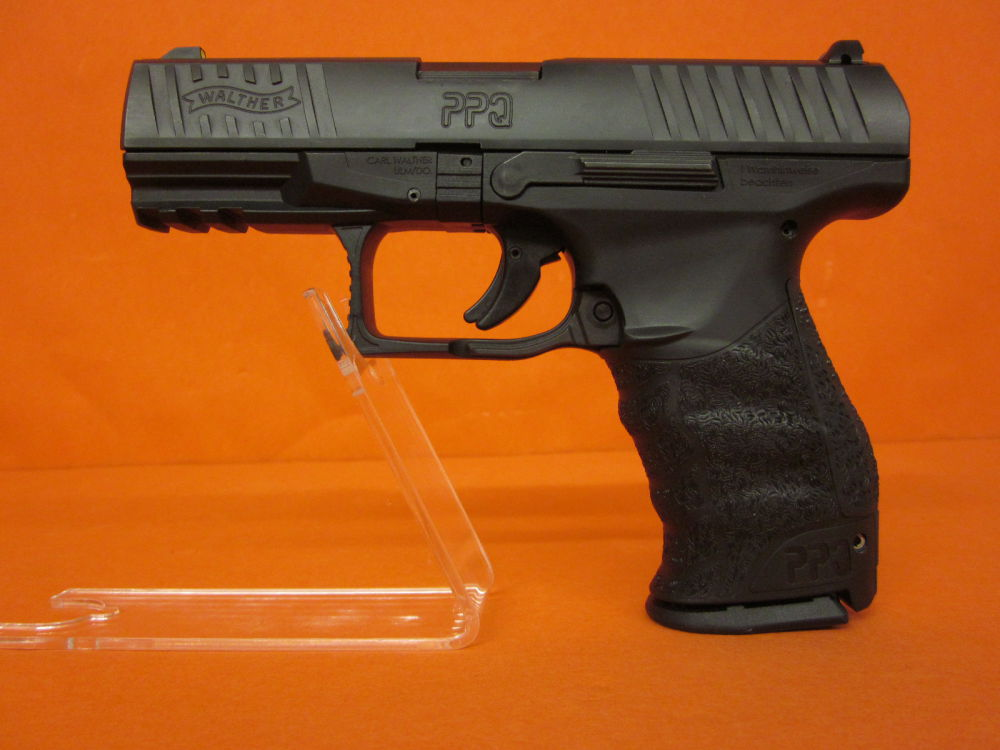 "Walther Ha.Pistole 9mmLuger Walther PPQ M1 Classic SEK-D 4"" Polygonlauf/3-Dot Stahl-Visierung (9mmPara/9x19)"