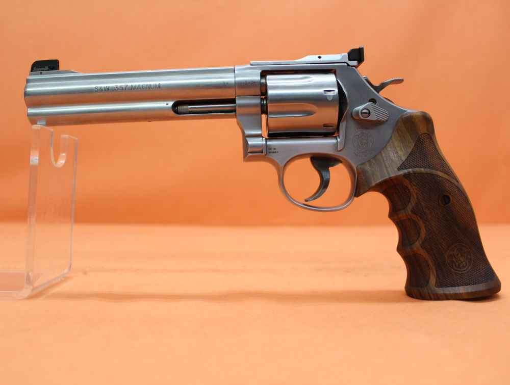 "Smith&Wesson Revolver .357Magnum Smith&Wesson/ S&W686-6 Target Champion Deluxe Match Master Stainless 6"" Lauf"