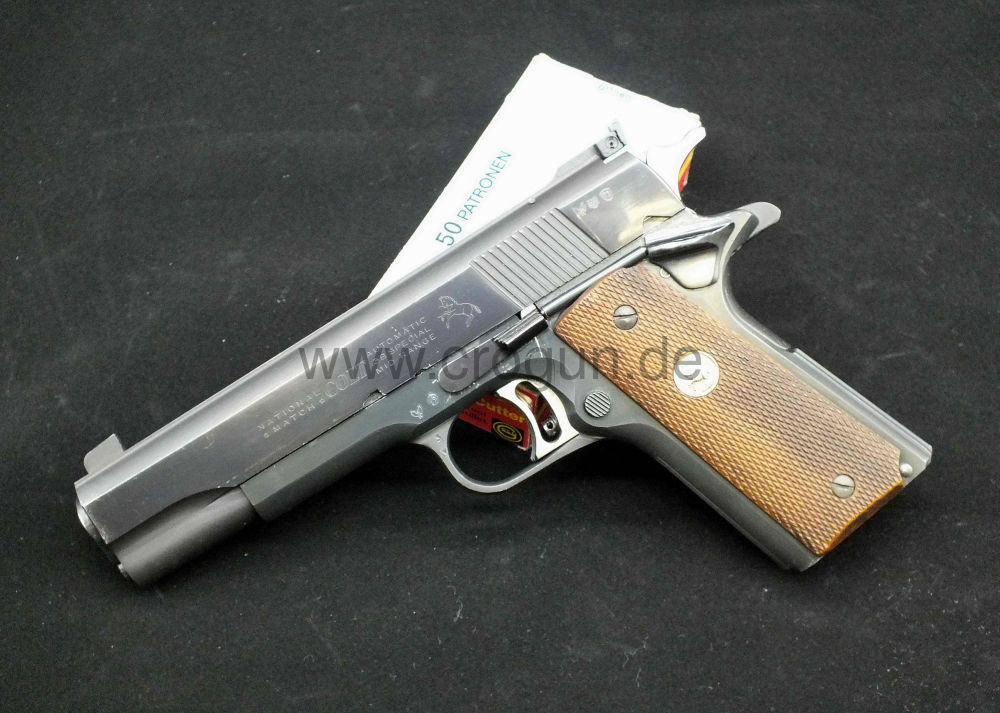 Colt 1911 Gold Cup National Match Mid-Range