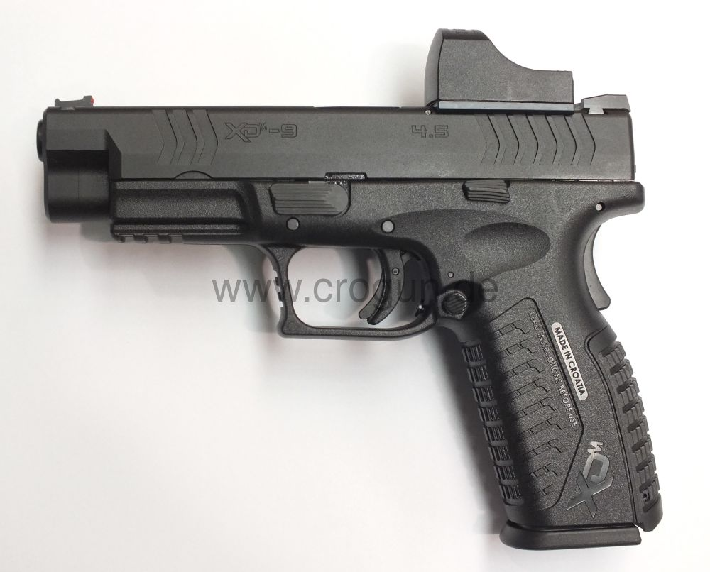 HS Produkt XDM-9 4.5 OSP (Open Sight Pistol)