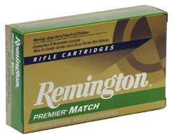 Remington Premier Match, 52 grs HPBT