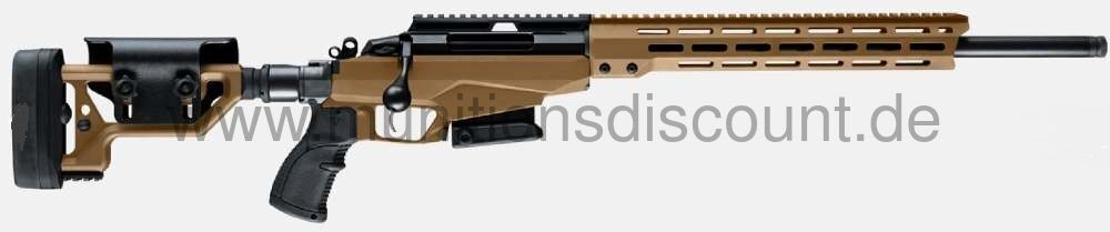 Tikka T3x A1 Tactical in Coyote Braun, Ll 62cm