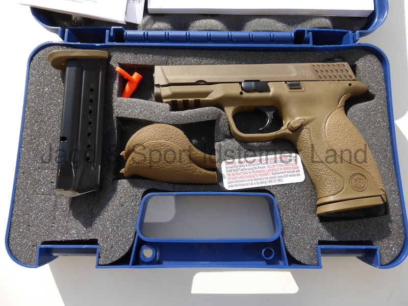 Smith & Wesson M&P9 VTAC FDE