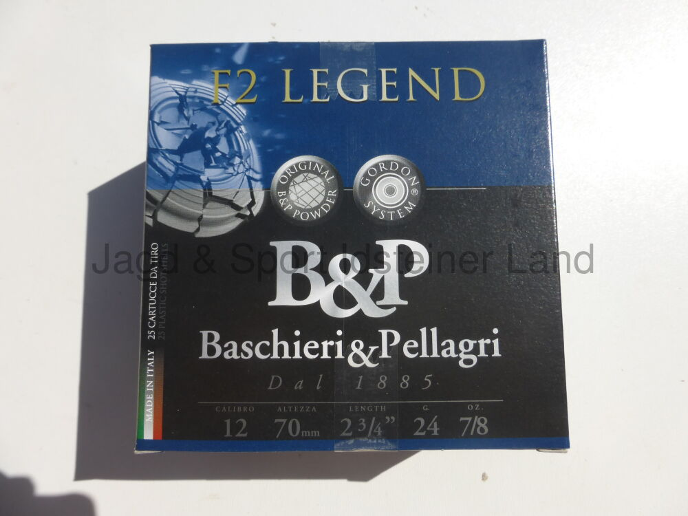 B&P, Baschieri & Pellagri F2 Legend, 2.25mm, 24g, size 7
