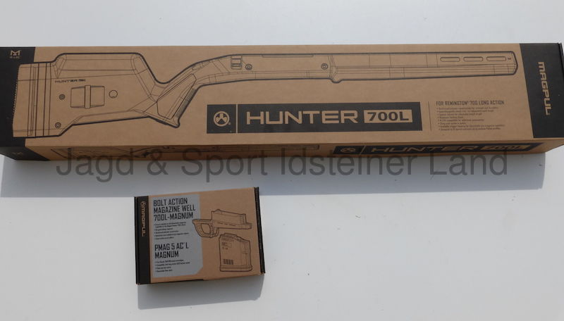 MAGPUL Hunter 700L FDE inkl. Magzine Well & Magazin,