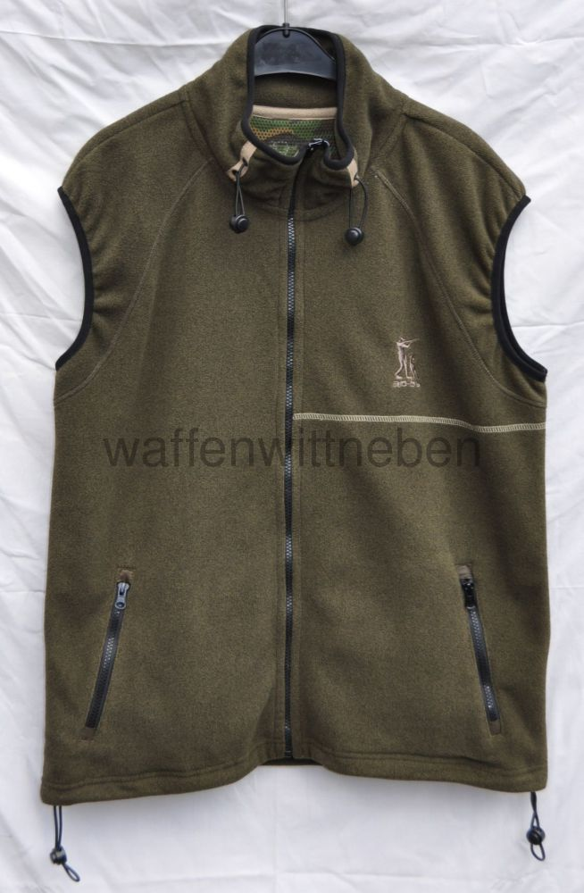 Rascher / Böcker Fleece-Weste 30-06 Gr. XXL