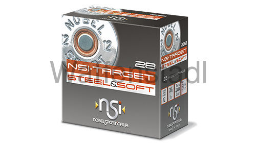 Nobel Sport Italia (NSI) NSI·TARGET STEEL & SOFT 28 Photodegradable Wad